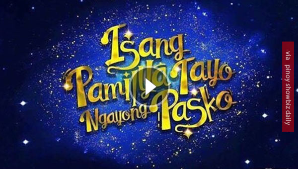 "Watch: ABS-CBN's Christmas Station ID 2016  ""Isang Pamilya Tayo"""
