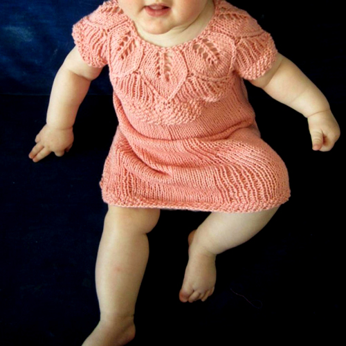 Eli Baby Dress - Free Pattern