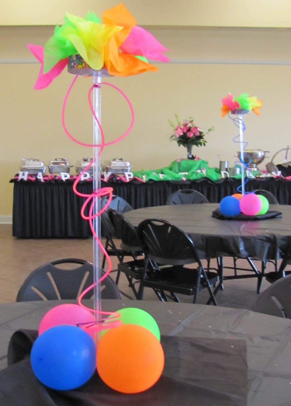 Sweet birthday party ideas table decorating