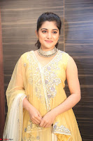 Nivetha Thamos in bright yellow dress at Ninnu Kori pre release function ~  Exclusive (62).JPG