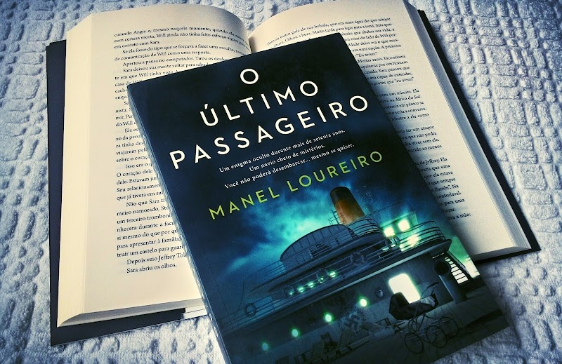 [RESENHA #364] O ÚLTIMO PASSAGEIRO - MANEL LOUREIRO