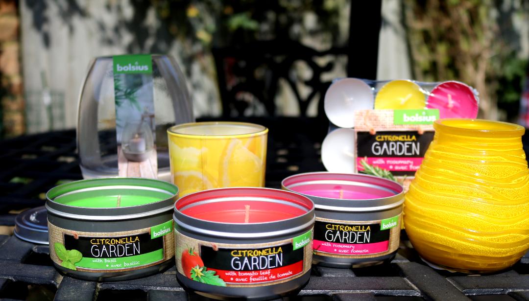 Bolsius Citronella Garden Candles Collection