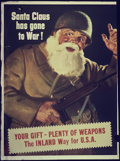 Father Christmas goes to war!