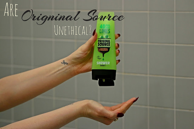 Original source ethical? Vegan shower gel