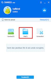 Cara Menggunakan SHAREit Untuk Kirim File Dari Android Ke PC
