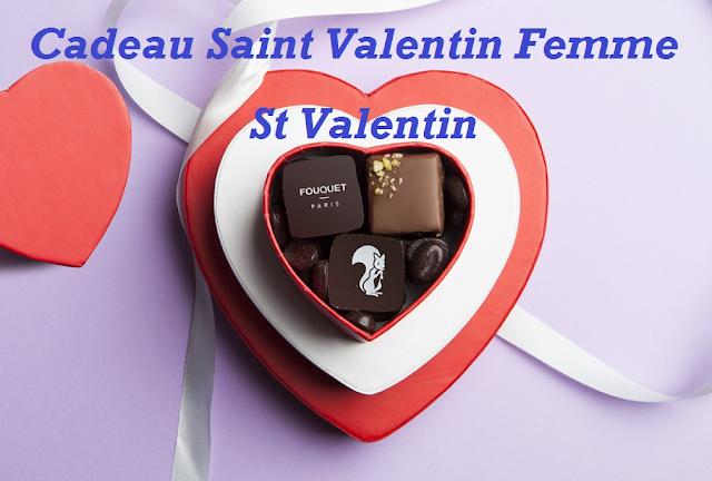 Cadeau Saint Valentin Femme - St Valentin