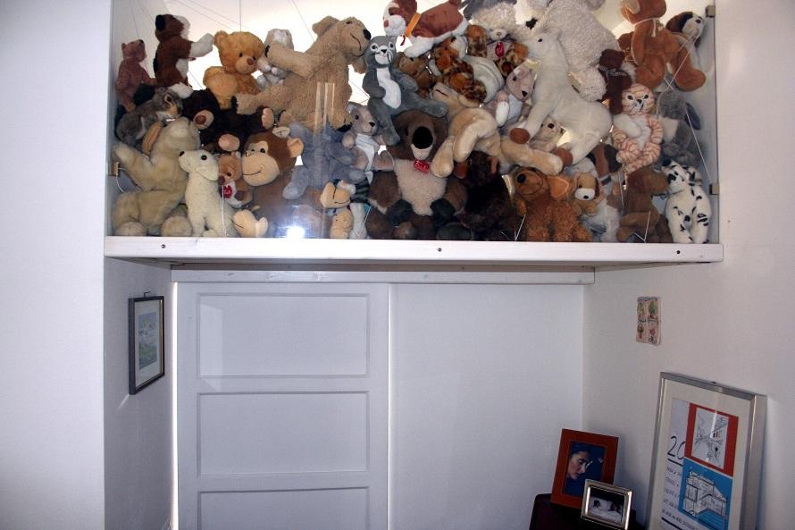 soppalco mezzanine porta legno wood door interni interior