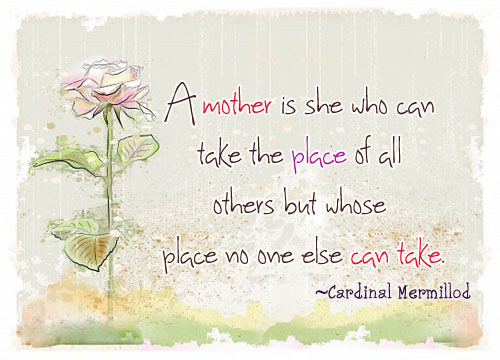 Mothers Day Emotional Quotes 2017