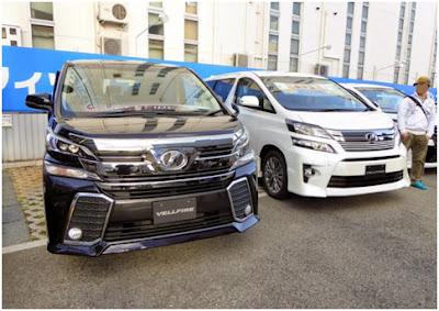 Spesifikasi Toyota Vellfire