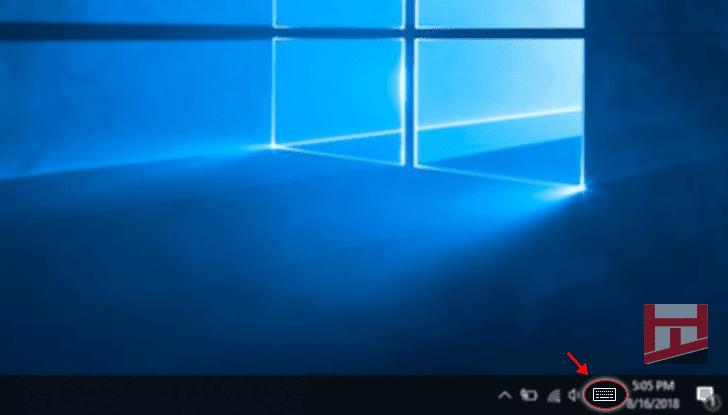 Cara Cepat menampilkan On-Screen Keyboard pada Windows 10