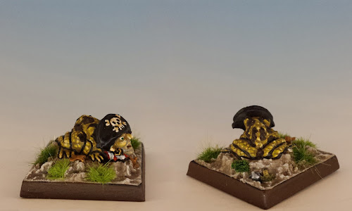 Talisman Pirate Toad, Citadel Miniatures (1987, sculpted by Aly Morrison)
