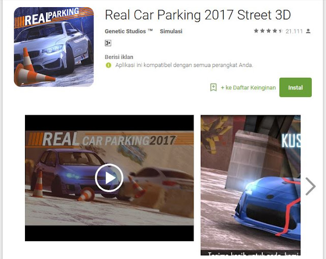 Real Car Parking Street 3D