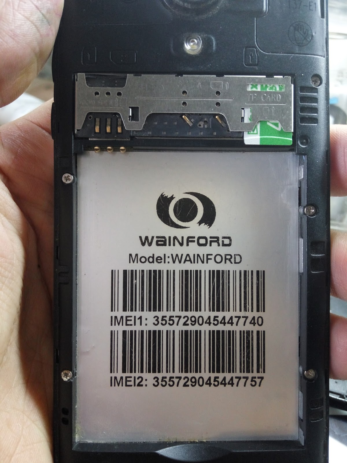 wainford firmware