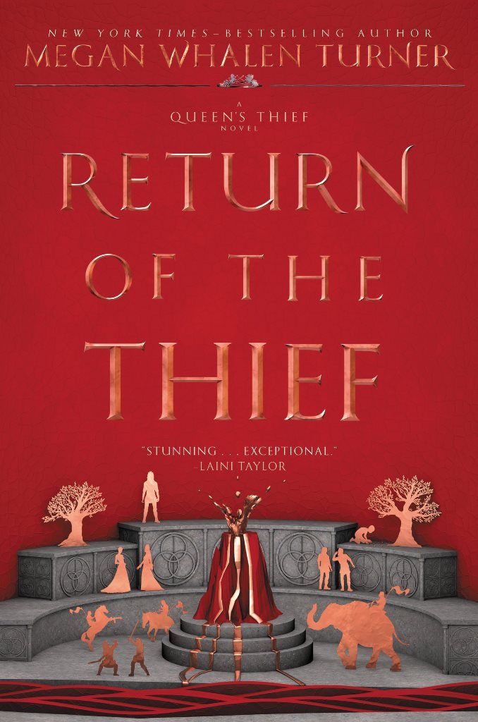 Cover Revealed The Return Of Thief By Megan Whalen Turner