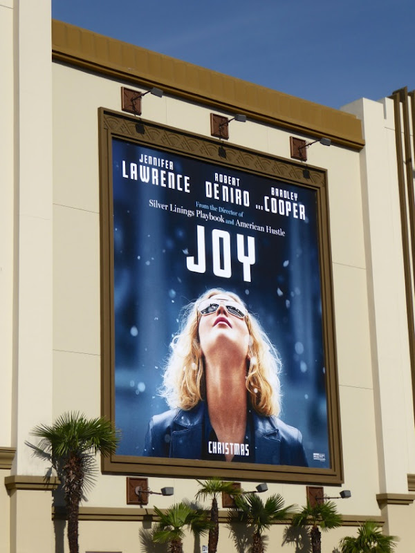 Joy film portrait billboard