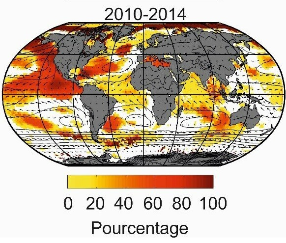Unprecedented biological changes in the global ocean