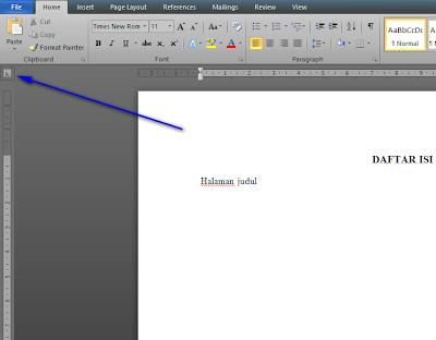 Tutorial membuat daftar isi di office word dengan cepat dan rapi