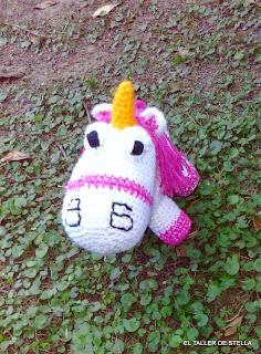 Pony de Mi villano Favorito   Einhorn häkeln, Amigurumi stricken ...   320x236