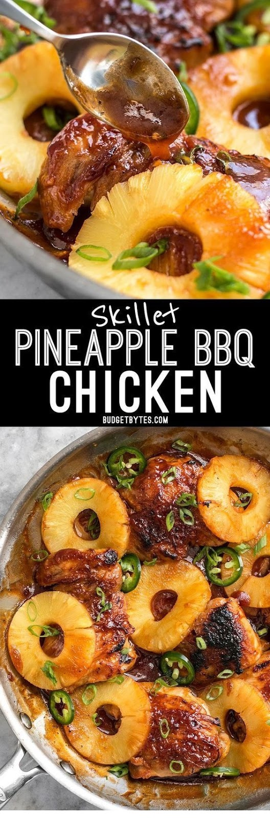Skillet Pineapple Bbq Chicken