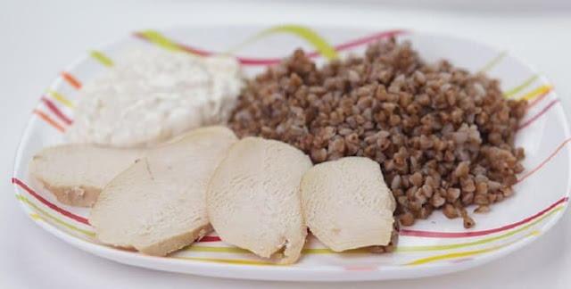 Похудеть на гречке и курице