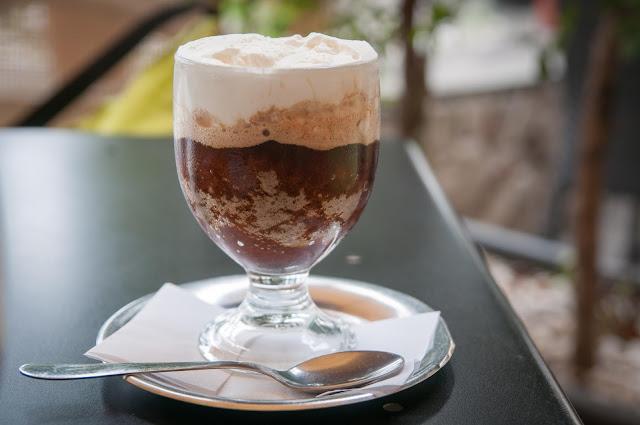 Granita al caffé; Milazzo, Sicily