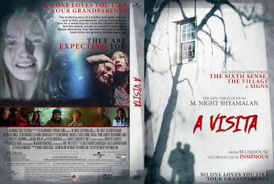 Filme A Visita DVD Capa