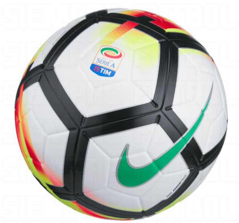 much better nike serie a 201718 ball leaked footy