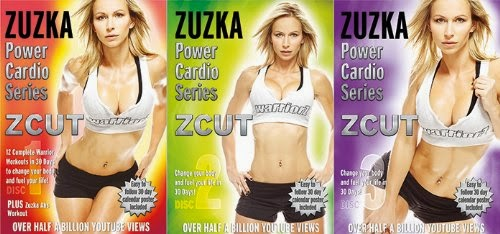 ZCUT Power Cardio Series 3 DVD Set