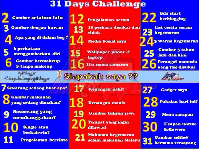 Day 14 Challenge: Media Sosial saya