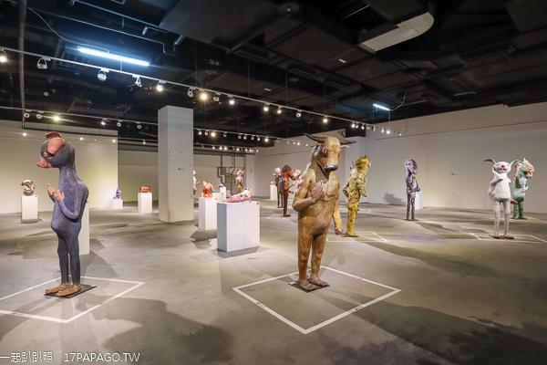 台中大里|台中軟體園區Dali Art藝術廣場活動|親子藝術潮樂園|中陽藝廊|許自貴的藝想世界