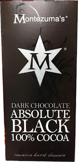 Montezumas absolute black 100% cocoa chocolate bar