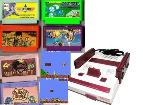 Los Mejores Juegos De Family Game Famicom Y Nes 8 Bits