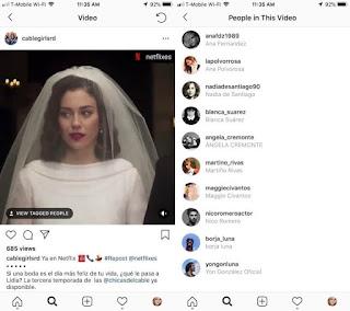 Instagram video tagging teaser