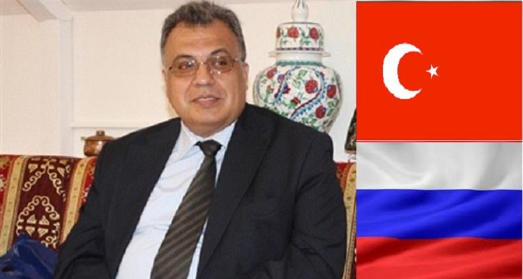 لحظة أطلاق النار على السفير الروسي في تركيا