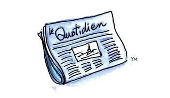 daily newspaper by Yukié Matsushita