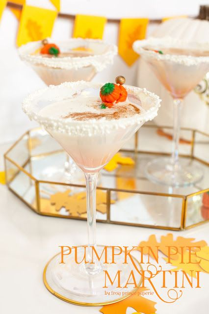 Pumpkin Pie Martini Cocktail Recipe