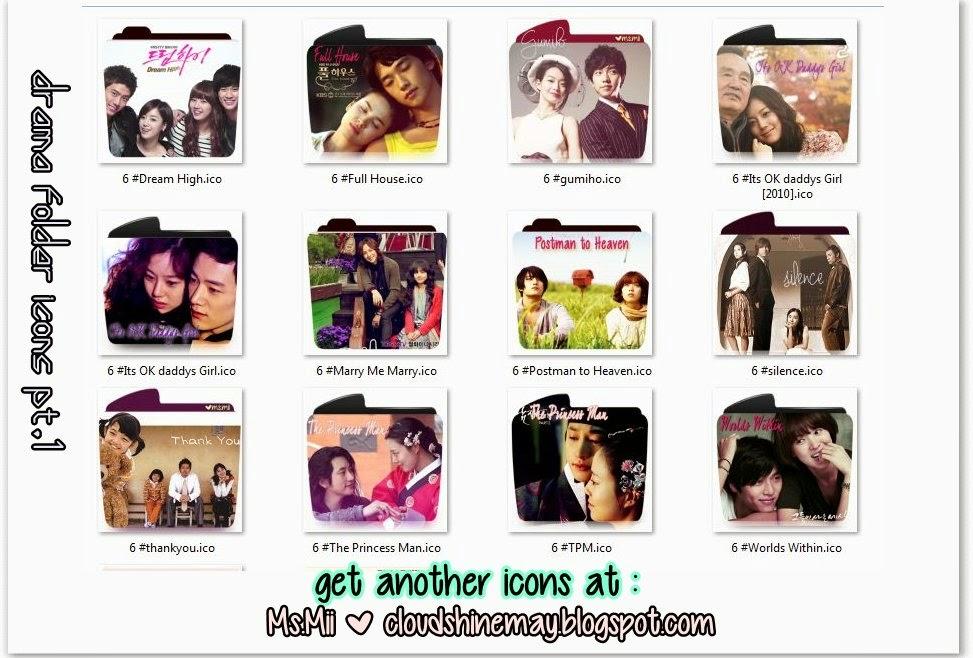 icon pack drama folder icons pt keep shining and