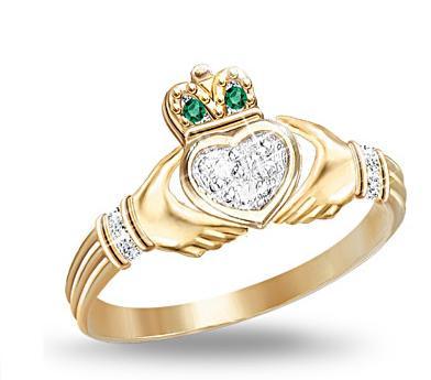 Promise Ring Idea: Claddagh Ring | ShoppingandInfo.com