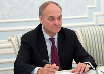 Anatoly Antonov - new Russian Ambassador to the USA.