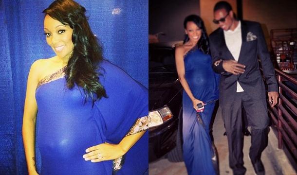 Singer Monica Pregnant 12