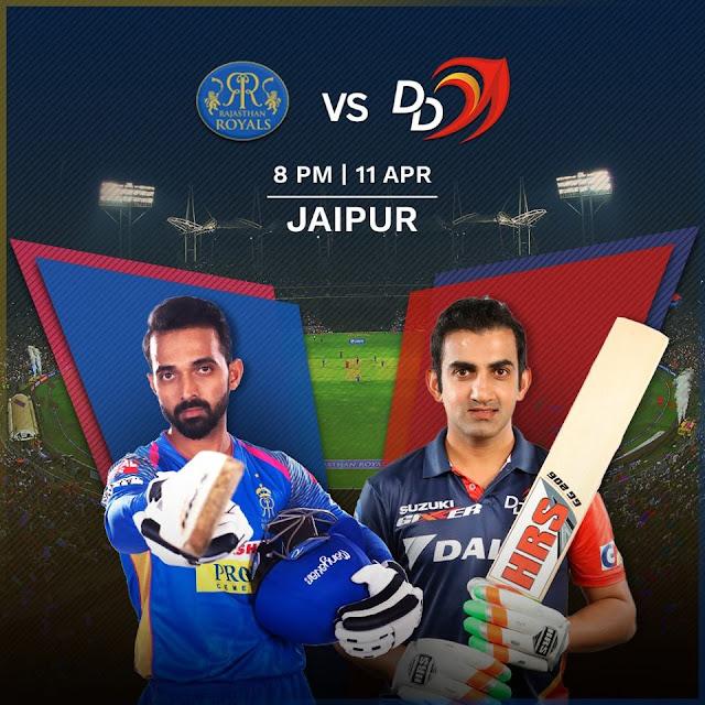 IPL 2018 RR vs DD Match Prediction Who Will Win