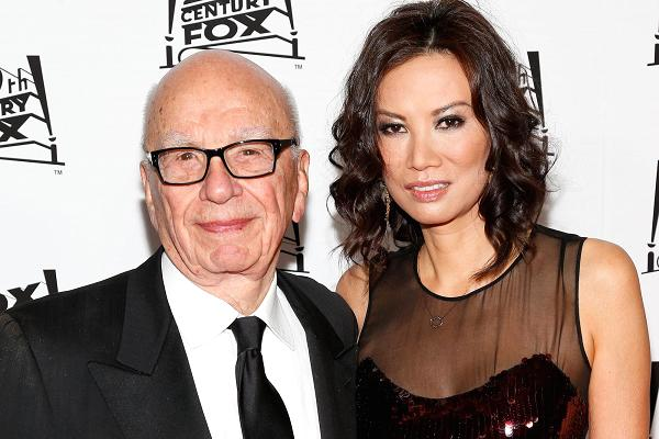 Rupert Murdoch and Wendi Deng   | Famous Celebrity Bible