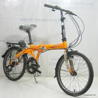 3 Sepeda Lipat Fold-X Seoul 21 Speed Shimano 20 Inci