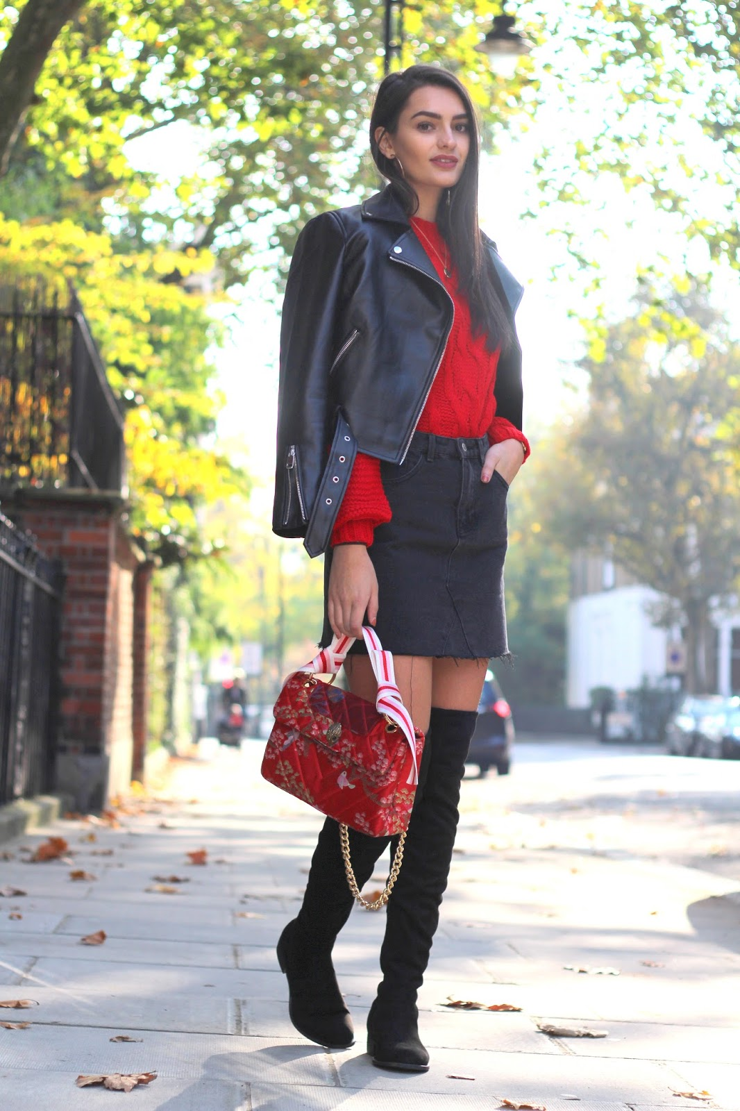 over the knee boots peexo fashion blogger