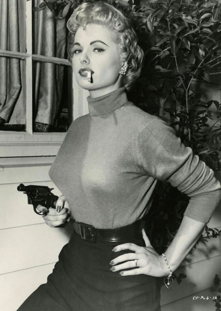 7a1544d7dd Martha Hyer for the Movie: Down Three Dark Streets, 1954 | BlueisKewl
