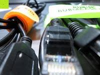 Kabel mit Klettbänder: BUBM DIS-L Tragbare Electronics Zubehör universal Kabel Organisator Kabel /Akku Aufbewahrungstasche Schwarz