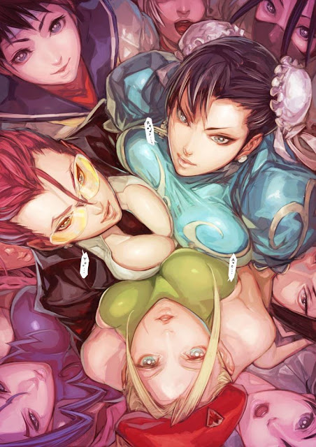 girls of street fighter