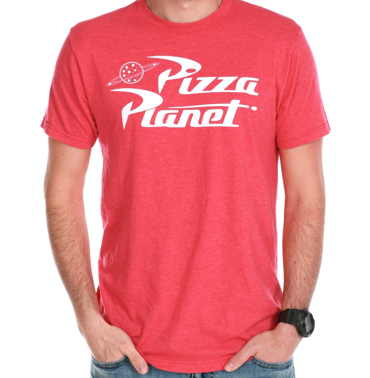 toy story pizza planet tee t-shirt