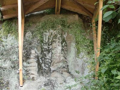 真珠院磨崖仏