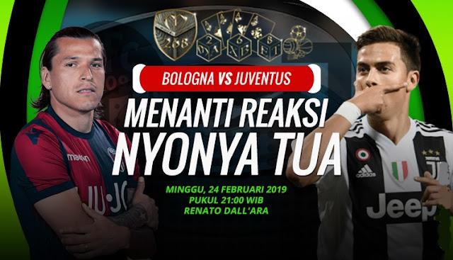 Prediksi Bologna vs Juventus, Minggu 24 Februari 2019 Pukul 21:00 WIB
